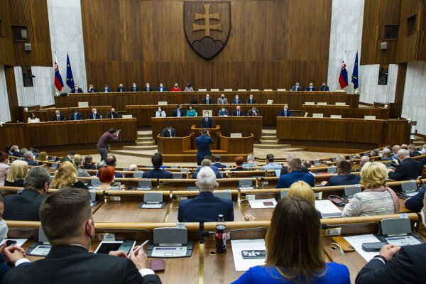 Národná rada SR - ilustračná fotografia.
