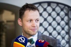 Branislav Harabin na zasadnutí Súdnej rady.