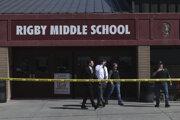 Škola, na ktorej strieľala žiačka 6. triedy.