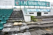 Pôvodný prešovský štadión začali búrať v roku 2018, nový dodnes stavať nezačali.