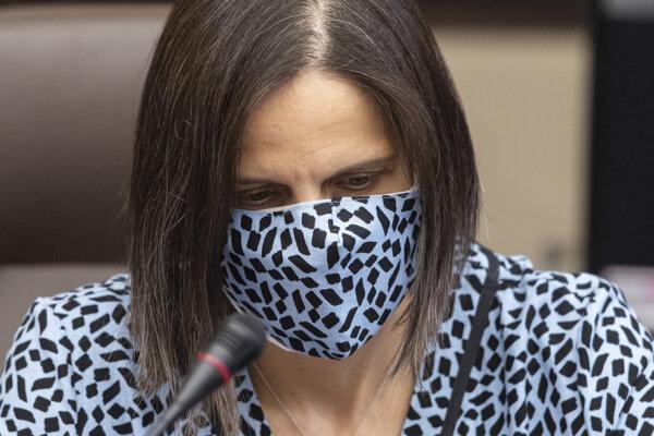 Ministerka spravodlivosti Mária Kolíková (Za ľudí)