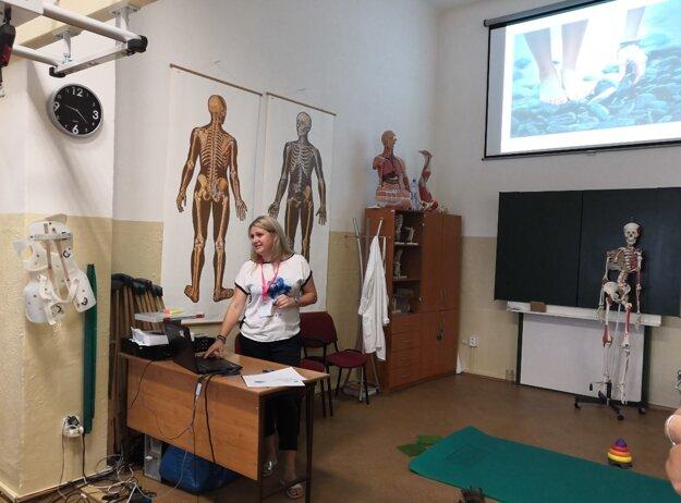 Študenti musia mať výborné vedomosti ostavbe ľudského tela.