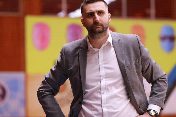 Tréner Danilo Rakočević.