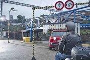 Naložiť auto alebo motorku pred cestou do chorvátskeho Splitu treba 1,5 hodiny pred odchodom vlaku.