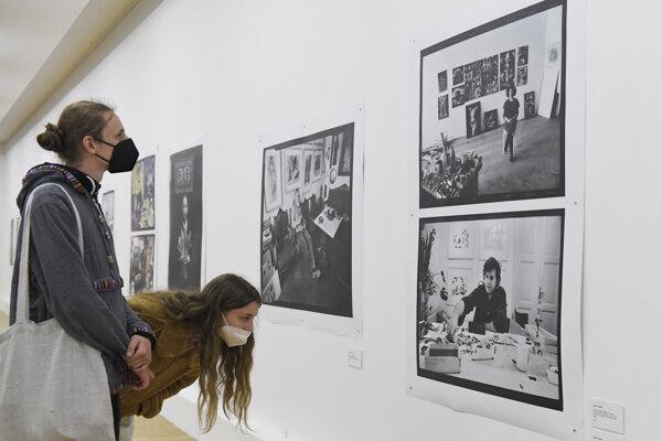 Výstava prináša ucelenejší pohľad do prirodzeného prostredia výtvarných umelcov a umelkýň lokálnej scény.