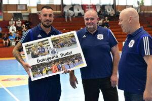 Vedenie klubu sa rozlúčilo so skúseným Petrom Dudášom.