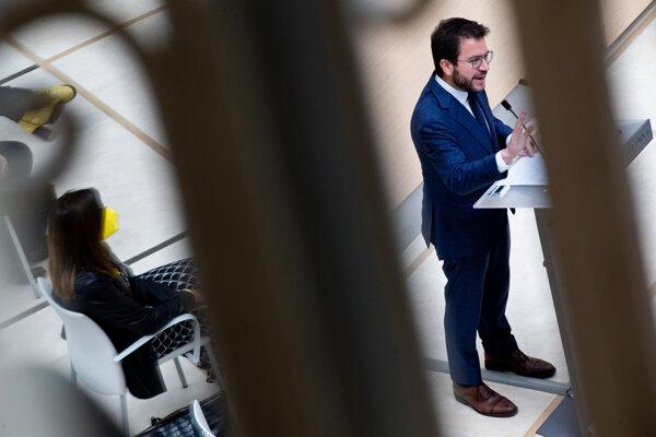 Líder ERC Pere Aragones.