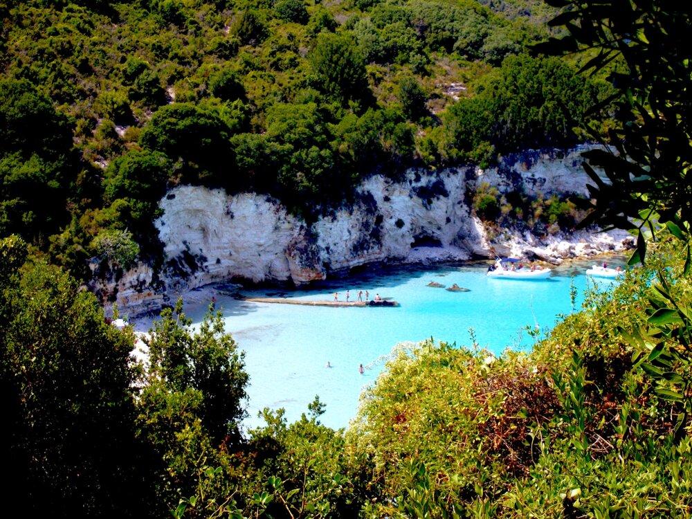 Ostrov Antipaxos, Grécko
