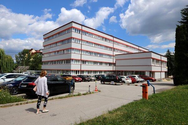 Budova Úradu priemyselného vlastníctva SR.