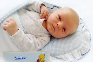 Jakub Zlatoš z Prievidze sa narodil 20. 5. 2021 v Bojniciach