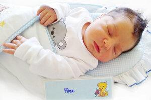 Alex Fuják z Handlovej sa narodil 24. 5. 2021 v Bojniciach