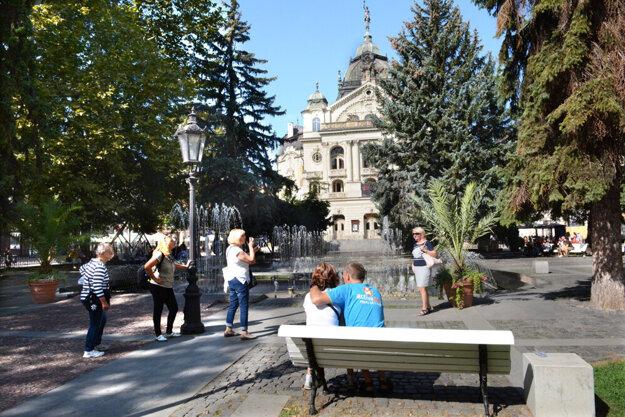Centrum mesta je pre turistov príťažlivé.