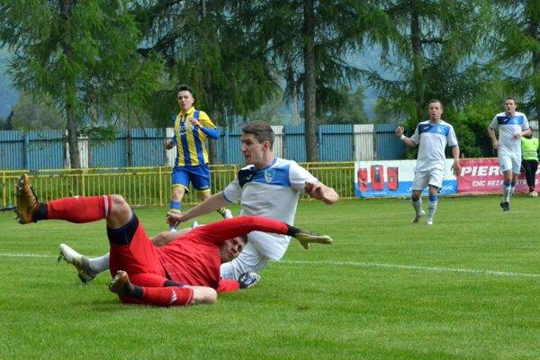 Jediný gól zápasu strelil Radovan Arvensis.