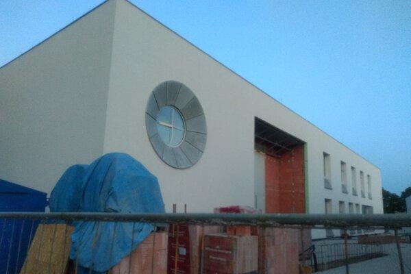 Nová budova Mestského úradu v Leopoldove