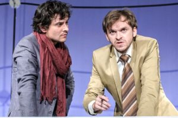 V hlavných úlohách sa predstavili Peter Oszlík (vľavo) ako Ravn a Martin Šalacha ako Kristoffer.
