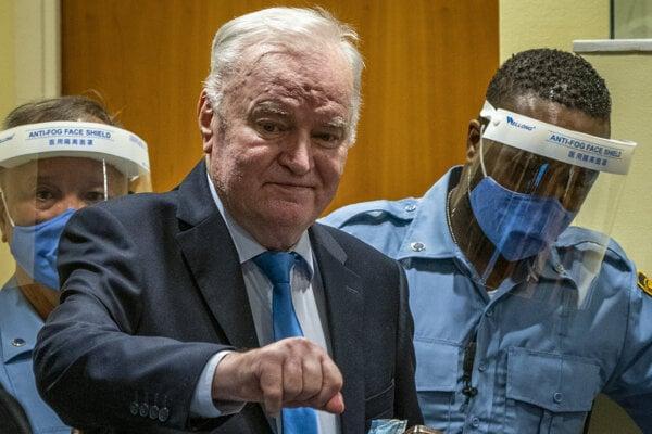 Súd Mladičovi potvrdil doživotný trest.