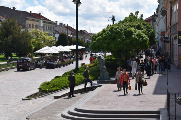 Centrum Prešova.
