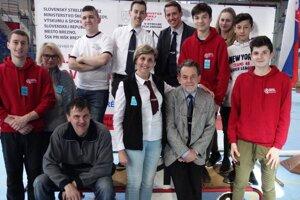 Členovia Športového streleckého klubu Brezno ako organizátori slovenského šampionátu vroku 2018.