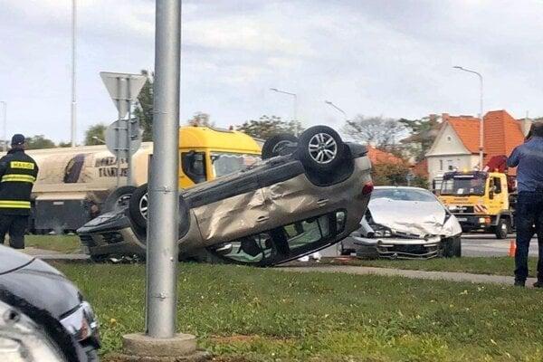 Jedna z mnohých. Táto nehoda je z roku 2018.