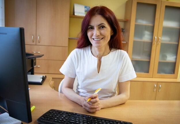 Lekárka Janka Lejavová, diabetologička vLiptovskom Mikuláši.