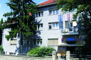 Radnica v Zlatých Moravciach.