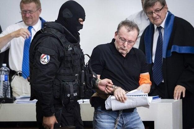 Róbert Lališ na Špecializovanom trestnom súde.