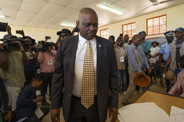 Prezident Mokgweetsi Masisi.