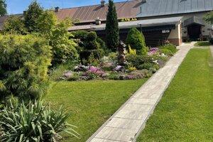Víťazná záhradka v Kláštore pod Znievom.