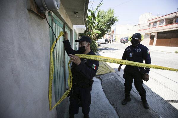 Mexická polícia.