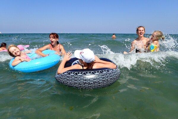 Dovolenka pri mori láka veľa Slovákov.