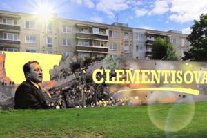 Vizuál nového muralu na Clementisovej ulici.