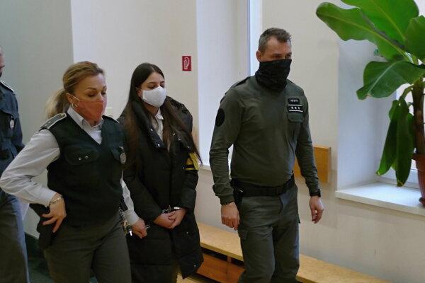 Judita Hana Konečná, ktorú odsúdili za vraždu kamaráta Tomáša.