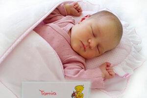 Tamia Luprichová z Nitrianskeho Pravna sa narodila 18. júna 2021 v Bojniciach