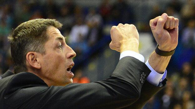 Tréner Štefan Svitek.