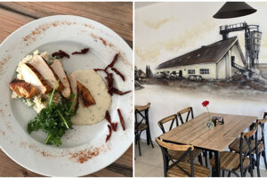 V Reštaurácii Pod kaštieľom nájdete výborné jedlo a príznačnú atmosféru.