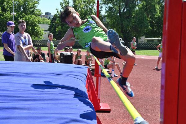 Mladí športovci si na podujatí preverili svoje schopnosti.