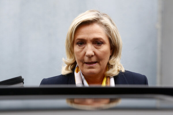 Predsedkyňa Národného združenia Marine Le Penová.