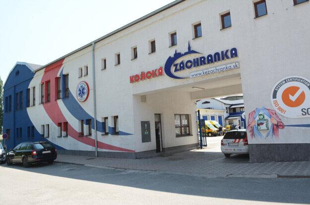 Záchranná služba Košice.