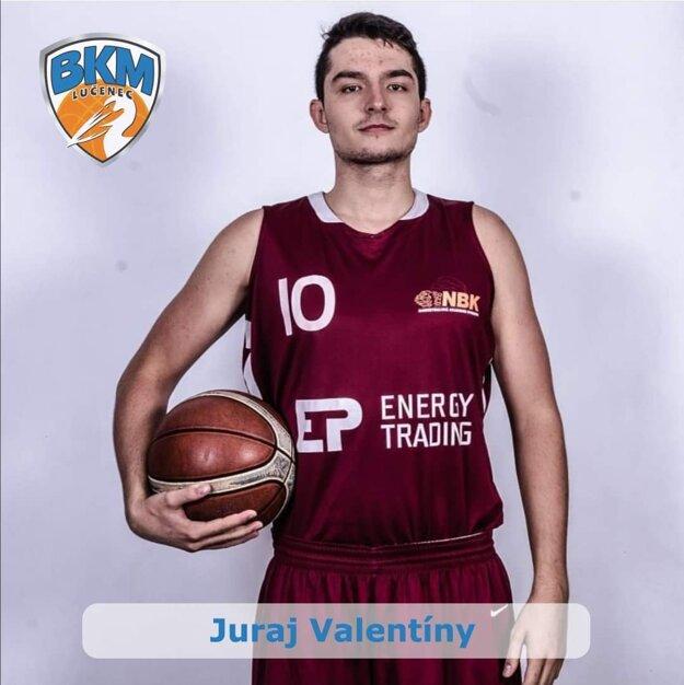 Juraj Valentíny - nová posila BKM Lučenec