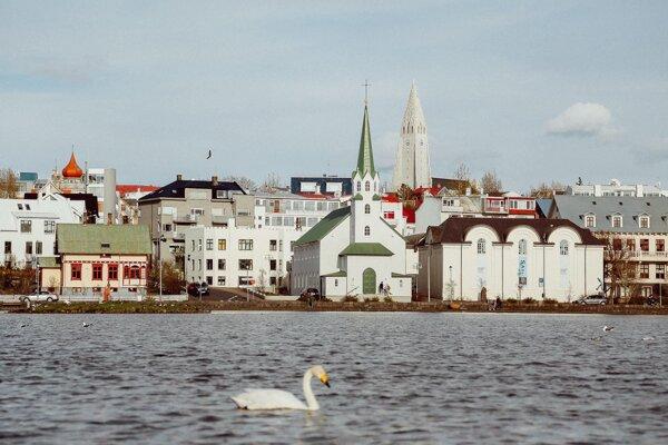 Reykjavík, Island.