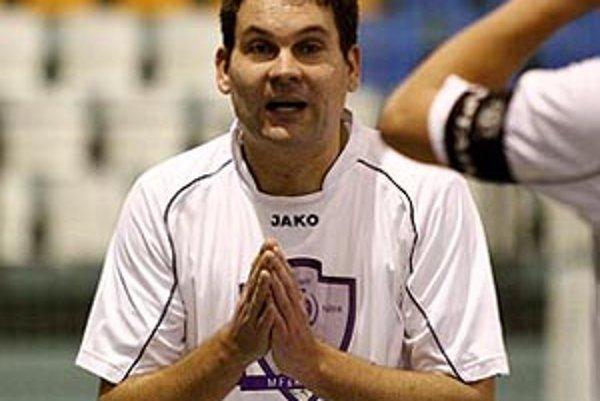Hrajúci tréner Nitry Anton Suchan.