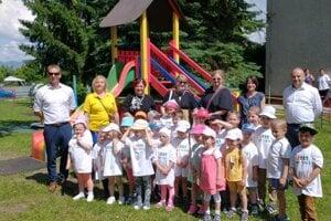 V Blatnici sa k prezentácii pridali aj deti z materskej školy.