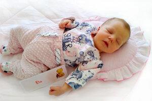 Ela Mondočková z Lipníka sa narodila 26. júna v Bojniciach