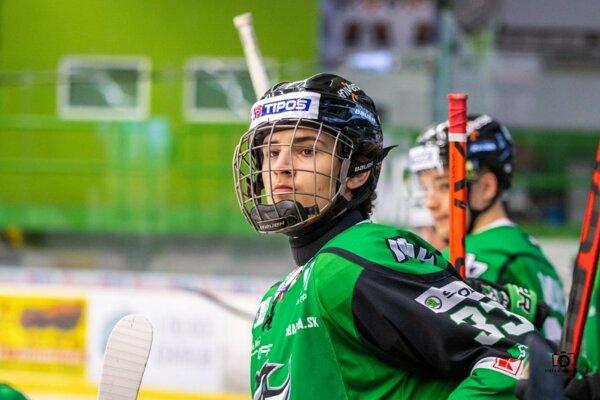 Viktor Petrík vdrese HC Nové Zámky.