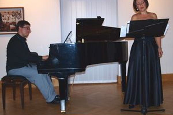 Ivan Šiller a Helga Varga Bach.