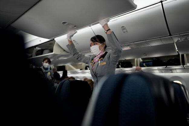 Let z Frankfurtu do Tokia.