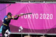 Danka Barteková v skeete na OH Tokio 2020 / 2021.