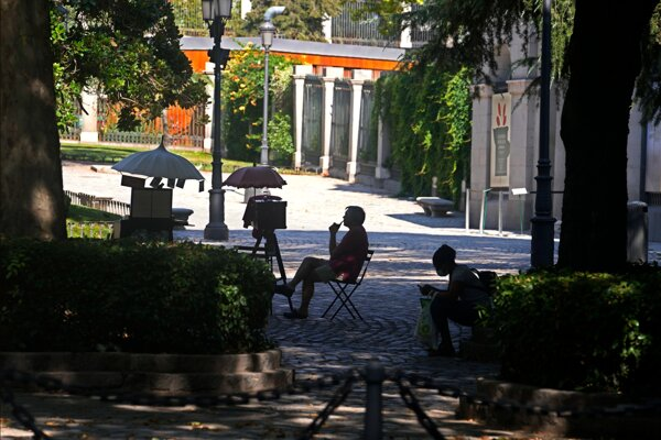 Bulvár Paseo del Prado.