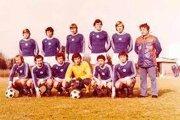 Futbalisti TJ Lokomotíva Košice vprípravnom zápase 1978/79.