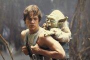 Mark Hamill vo filme Hviezdne vojny epizóda V - Impérium vracia úder.